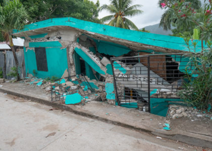 Earthquake Relief In Action